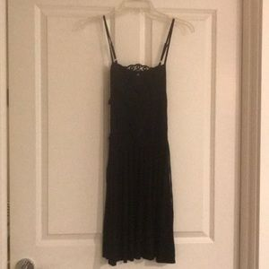 Brand new black dress with spaghetti straps